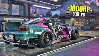 Need for Speed Heat Gameplay - 1000HP+ NISSAN SILVIA SPEC-R AERO Customization | Max Build 400+