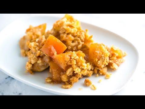 Easy Homemade Apple Crisp Recipe – How to Make Apple Crisp with Oats