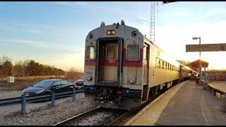 Railfanning Readville Station with Amtrak, MBTA, and CSX Trains!