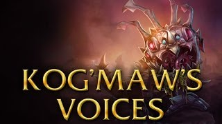 LoL Voices - Kog