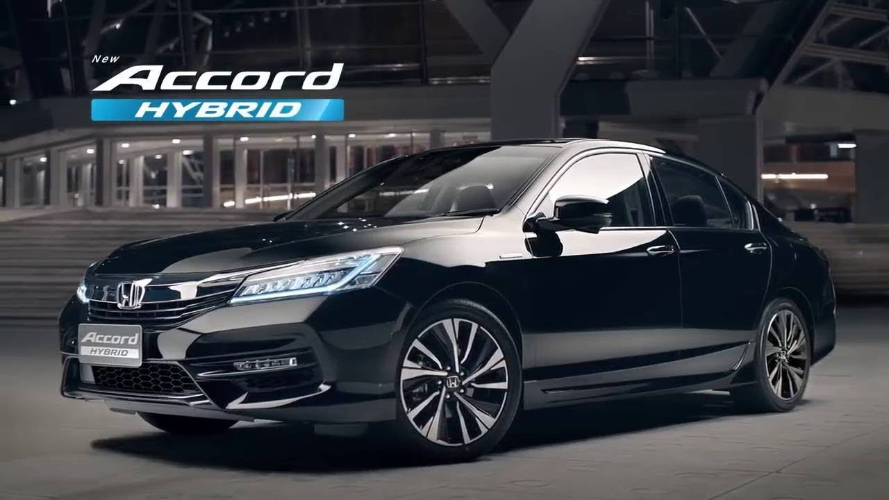 2020 Honda Accord Hybrid All New Sedan Experience