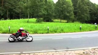 Ducati S2R 800 Termignoni ohne DB-Killer, Elbuferstraße