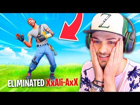 Reacting to players ELIMINATING me in Fortnite... (Very sad)