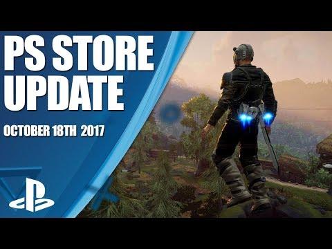 PlayStation Store Highlights - 18th October 2017