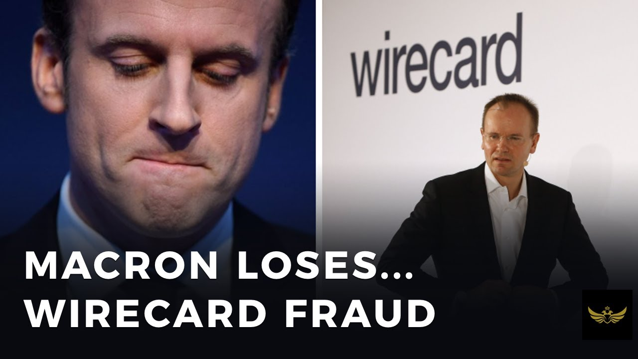 Macron loses big in elections. German Wirecard Ponzi scheme (Video)