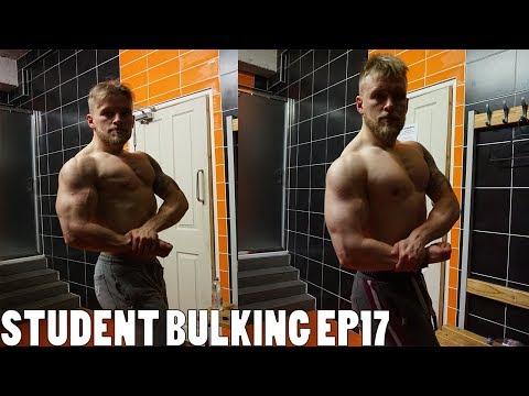 Student Bulking EP17 - My 20 Week Natural Bulking Transformation