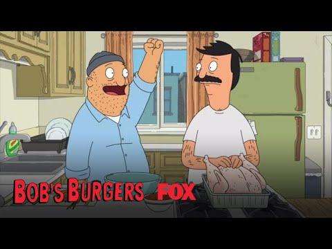 Bob & Teddy Rub The Thanksgiving Turkey | Season 8 Ep. 5 | BOB'S BURGERS