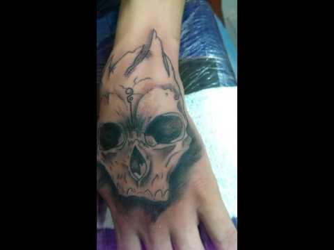 Calavera Mano Tattoo Youtube