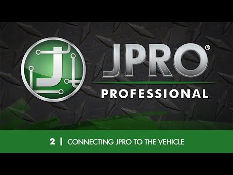 2 - Connecting JPRO to the Vehicle