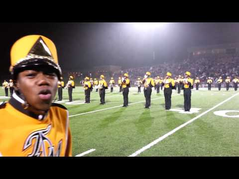 Thurgood marshall highschool band mighty stampede 11/22/13