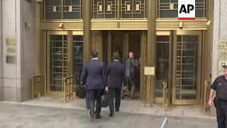 Michael Cohen, Michael Avenatti Arrive At Court