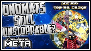 Onomats Still Unstoppable POST BAN? Meta Weekly 186! [Yu-Gi-Oh! Duel Links]