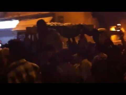 تشييع الشهيد عمار طسلة 2012/6/14 دمشق جوبر/e/1