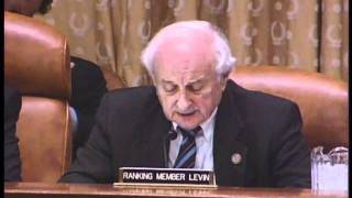 Levin Statement at Hearing on  Administration