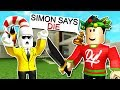 SIMON SAYS IN ROBLOX MURDER MYSTERY X!