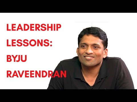 Byju Raveendran with Shradha Sharma: Leadership Lessons