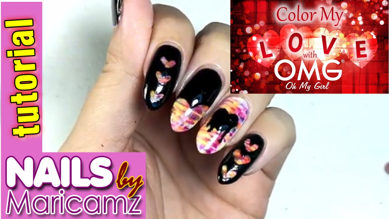 Omg Nails Nail Polish Philippines Nail Art Tutorial Heart