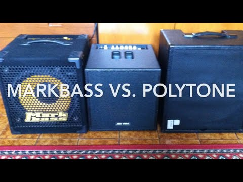 Markbass vs Polytone match!