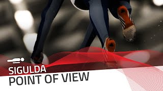 Sigulda | Skeleton Point Of View | IBSF Official
