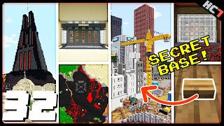 HermitCraft 7 | SECRETS & PLANS & BASES! | Ep 32 - 2021-02-09T18:21:32Z