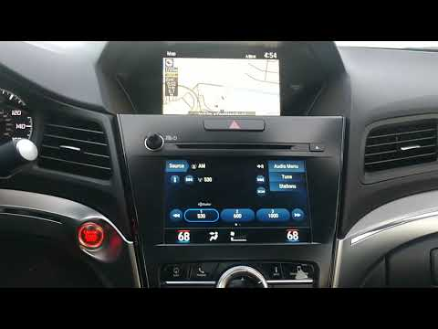 How to cancel your route in your GPS in your 2019 Acura ILX tech. MS
