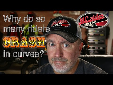 Do you run wide in corners on your motorcycle? This video may fix it. - Episode - 25 MCrider
