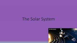 The Solar System Quiz (GCSE Science OCR Gateway)