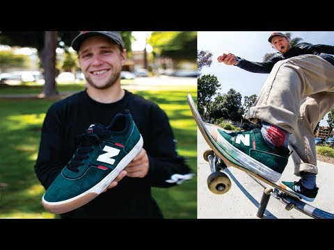 100 DIFFERENT Flat Bar Tricks With Jamie Foy In The New Balance 306