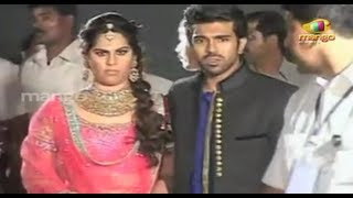 Ram Charan weds Upasana - Sangeet Red Carpet