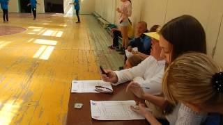 Прыжки на скакалке. «Козацькій гарт» между школами Корабельного р-на. Видео