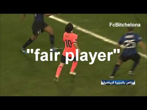 Lionel Messi Diving, Being A Cunt | COMPILATION 2012