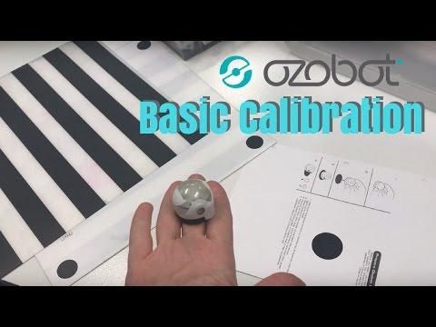 Ozobot: Basic Calibration