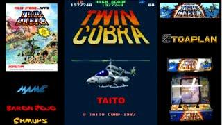 Twin Cobra - Arcade - 1 Loop Clear - 1CC