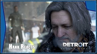 Detroit: Become Human - Hank reacts to Markus killing Office Miller (HD)