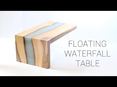 Floating Epoxy River Table | Concept Build