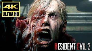 [4K] RESIDENT EVIL 2 REMAKE - Story Trailer @ UHD ✔
