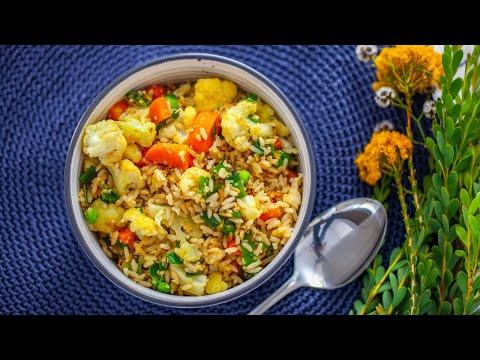 Fried Rice with Hemp Seed with Julie Meek