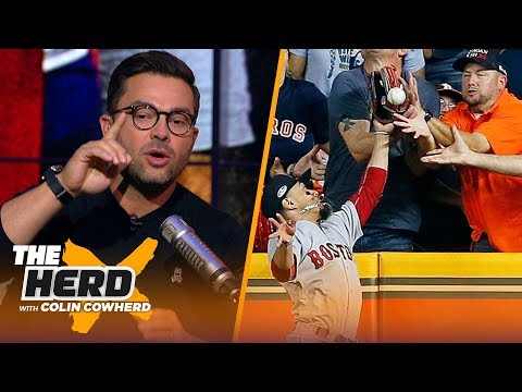 Nick Swisher on controversial fan interference call in ALCS and Machado's antics | MLB | THE HERD