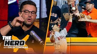 Nick Swisher on controversial fan interference call in ALCS and Machado