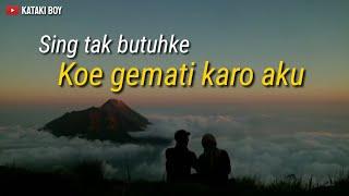 Story WA bahasa jawa romantis, ojo ragu karo aku.