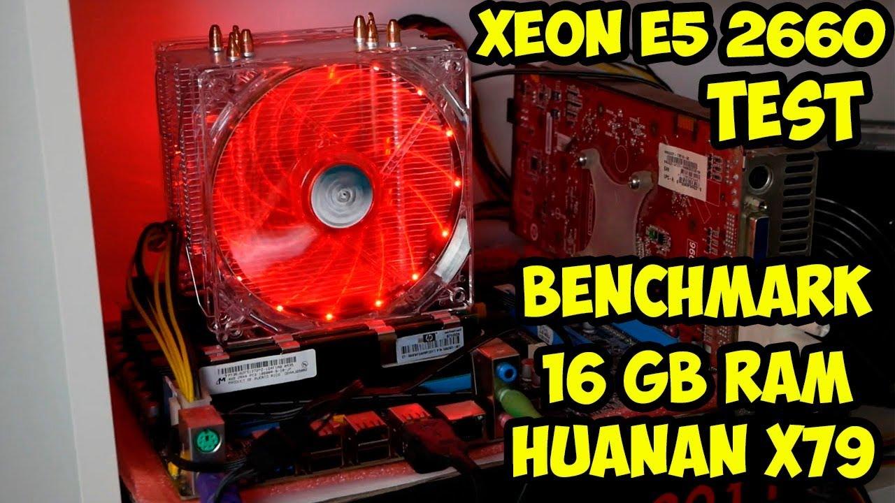 Обзор и опыт использования сборки ПК на Xeon E5 2660, LGA 2011, Huanan X79