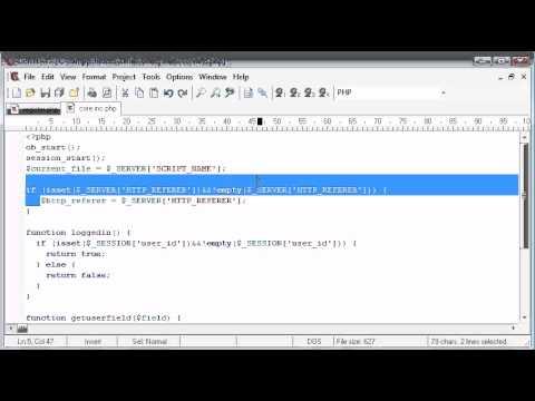Beginner PHP Tutorial - 148 - More Validation Part 1