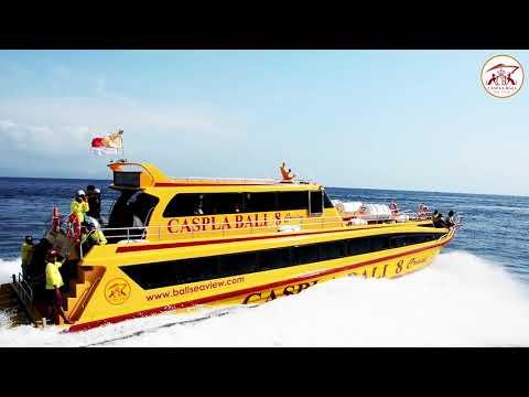 Nusa Penida Fast Boat Caspla Bali 8 Cruise