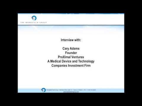 The Minute: Interview with Cary Adams - Pricing Pressures on Medical Technology Companies
