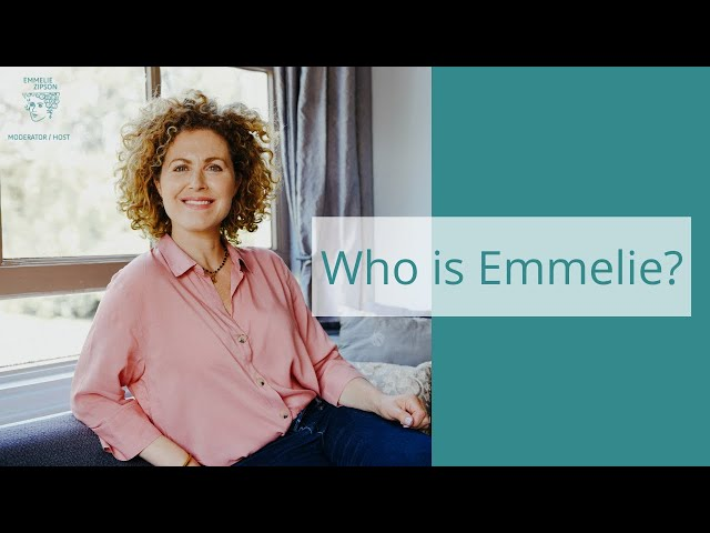 Meet Emmelie Zipson, colourful moderator for online and live events NL and ENG (native speaker)