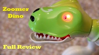 Zoomer Dino Boomer, Hands-on Review. Prehistoric Interactive Pet