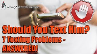 Should I Text Him? 7 Texting Tips | Relationship Advice With Carlos Cavallo
