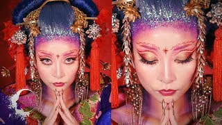 女帝メイク・Asian Empress Look [Eng Subs] |ROYALTY|FACE Awards Japan TOP6 Challenge