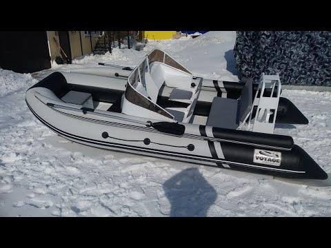 Обзор алюминиевого РИБа VOYAGE 420 Фальшборт в тюнинге!