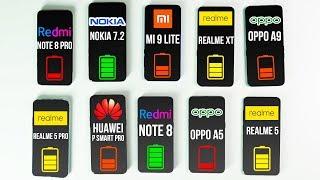 КТО ПОБЕДИТ? Xiaomi Redmi Note 8 Pro, OPPO A9, REALME 5 PRO, MI 9 LITE, HUAWEI P SMART PRO, NOKIA